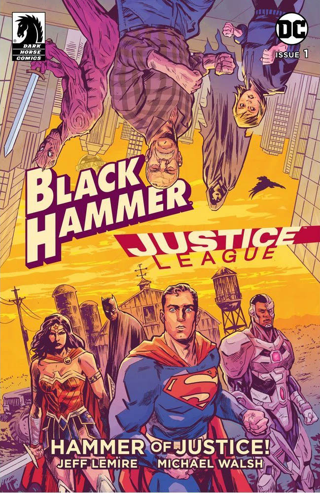 Black Hammer / Justice League: Hammer Of Justice