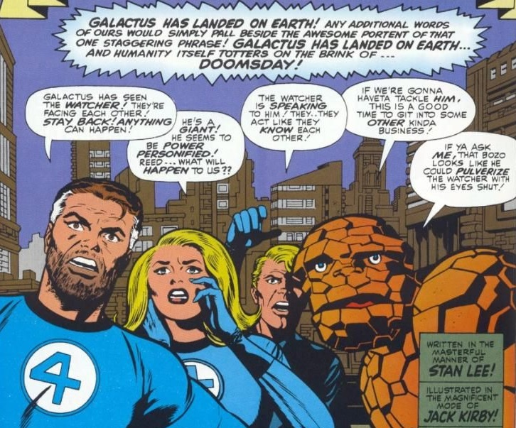 Fantastic Four - The Coming Of Galactus