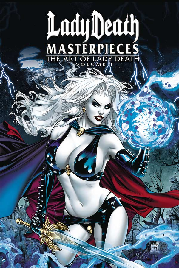 Lady Death Masterpieces: The Art Of Lady Death HC
