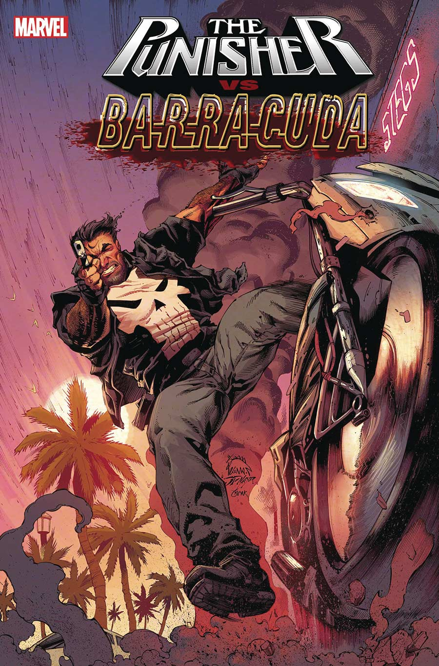 The Punisher Vs Barracuda