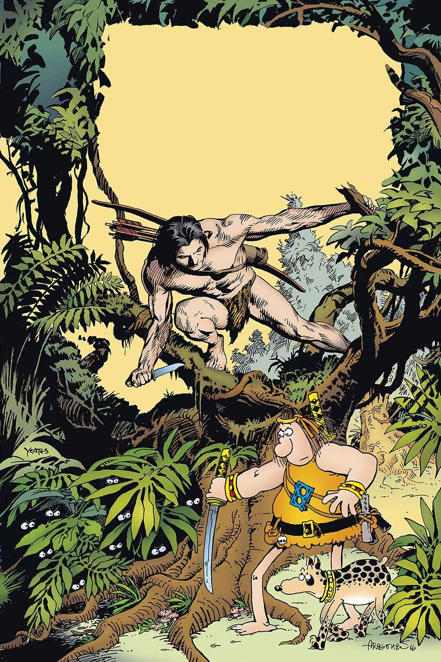 Groo Meets Tarzan