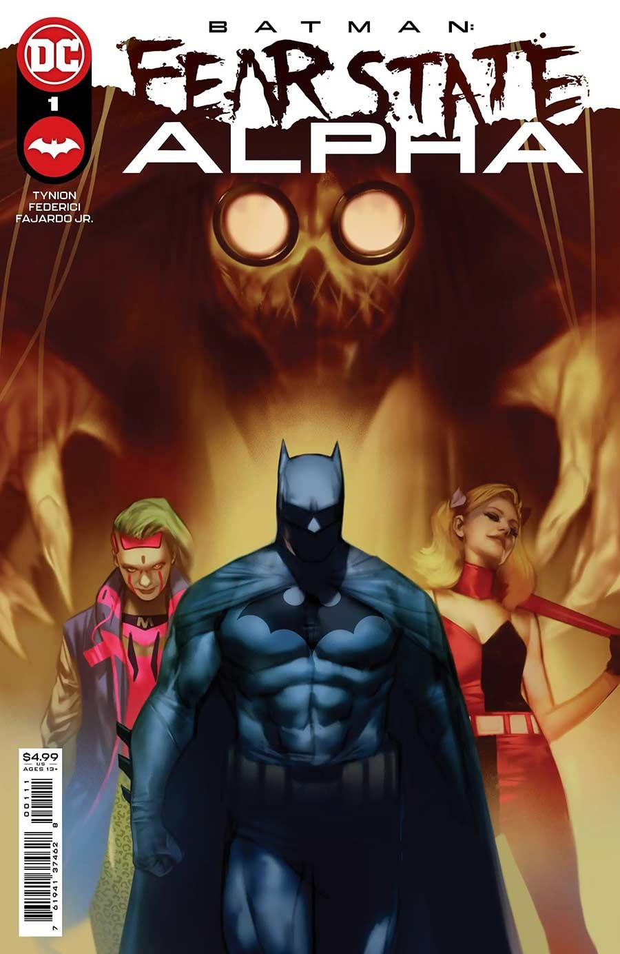 Batman: Fear State: Alpha